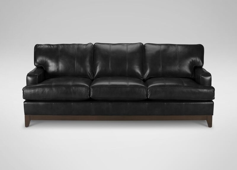 Arcata Leather Sofa ,  , large_gray