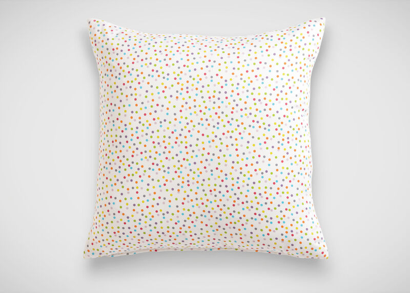 Kenzie Polka Dot Pillow ,  , large_gray