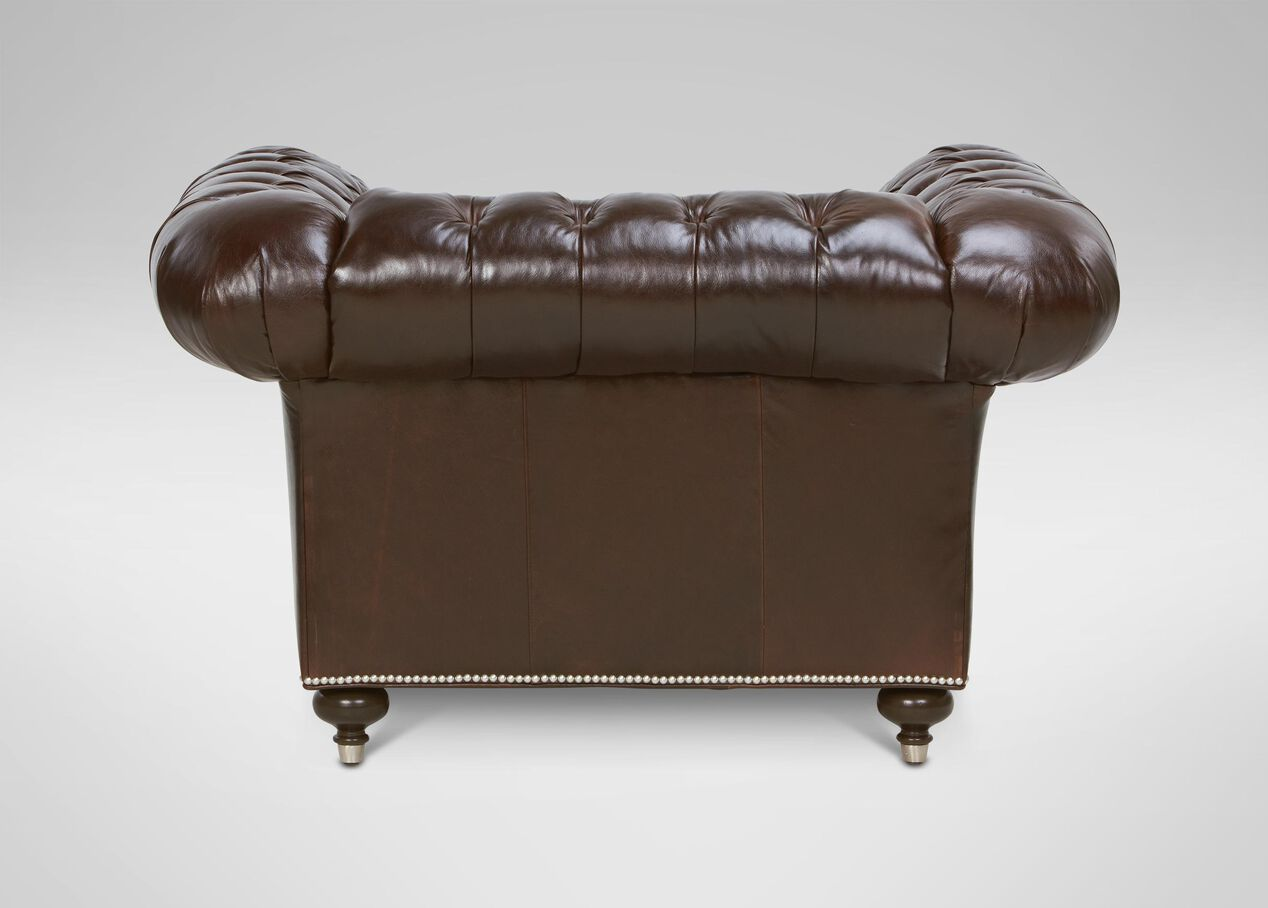 Mansfield Leather Chairs | Chairs & Chaises