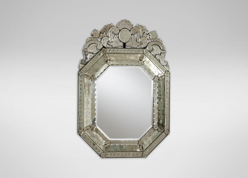 Small Ornate Venetian Mirror ,  , large_gray