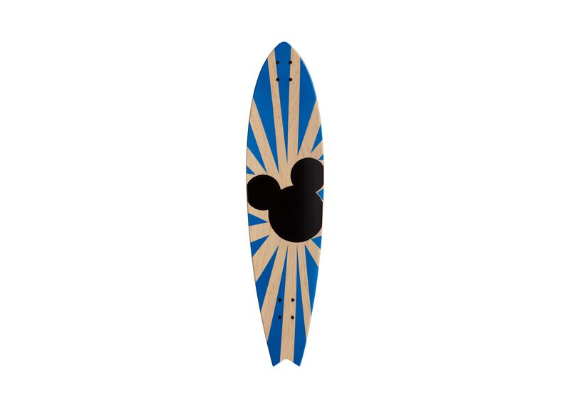 Mickey Mouse Longboard Wall Art I ,  , large_gray