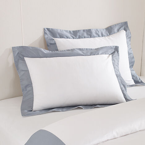 Wexford Sham White/Wilton Blue ,  , large
