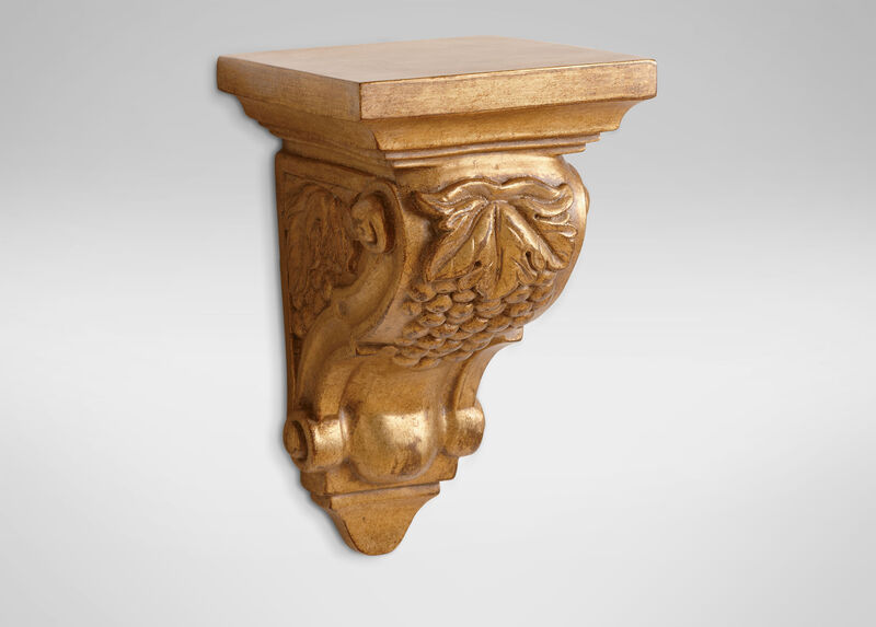 Gold Ornate Wall Bracket ,  , large_gray
