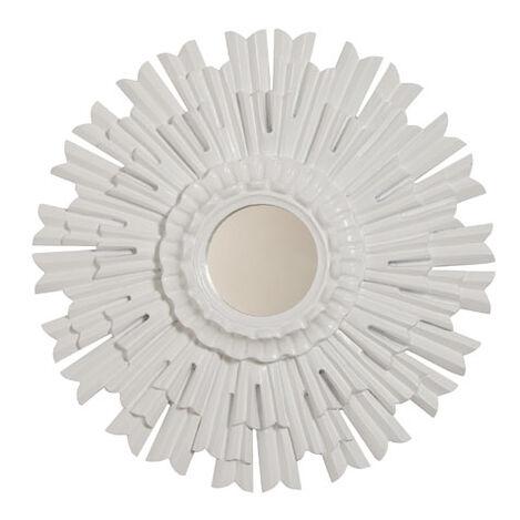 Miroir soleil blanc ,  , large
