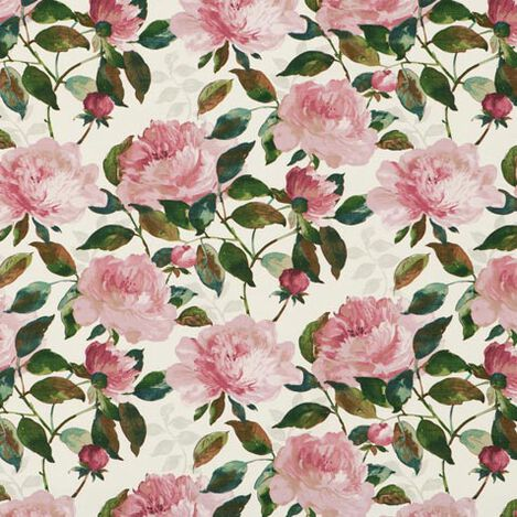 Audrina Fuchsia Fabric ,  , large