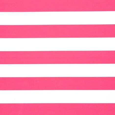 Horizontal Pop Stripe Minnie Pink Fabric ,  , large