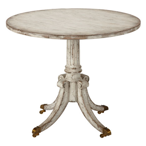 Vienna Round Pedestal Table, Brie ,  , large