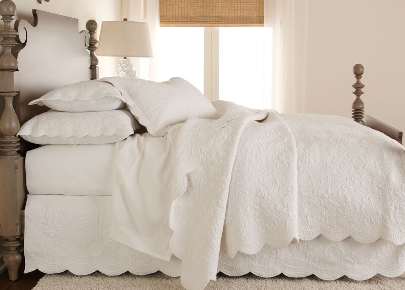 Dominique White Quilt ,  , large_gray