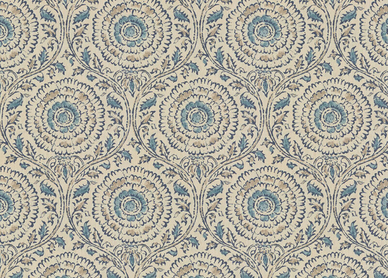 Micah Blue Fabric by the Yard ,  , large_gray