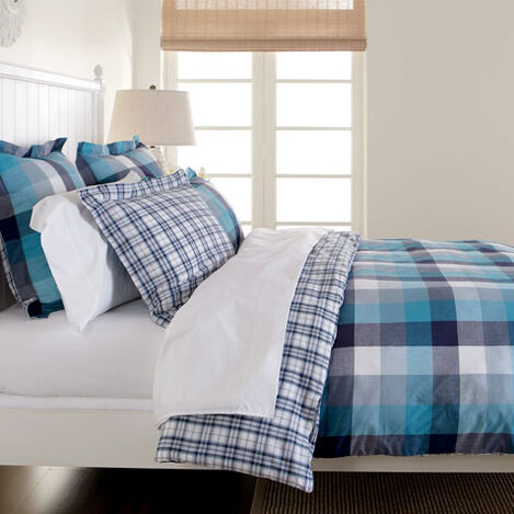 Bryson Plaid King Duvet Cover ,  , large