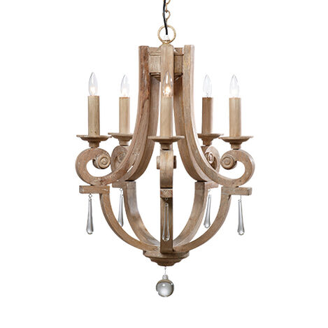 Ivory Lisi Chandelier ,  , large