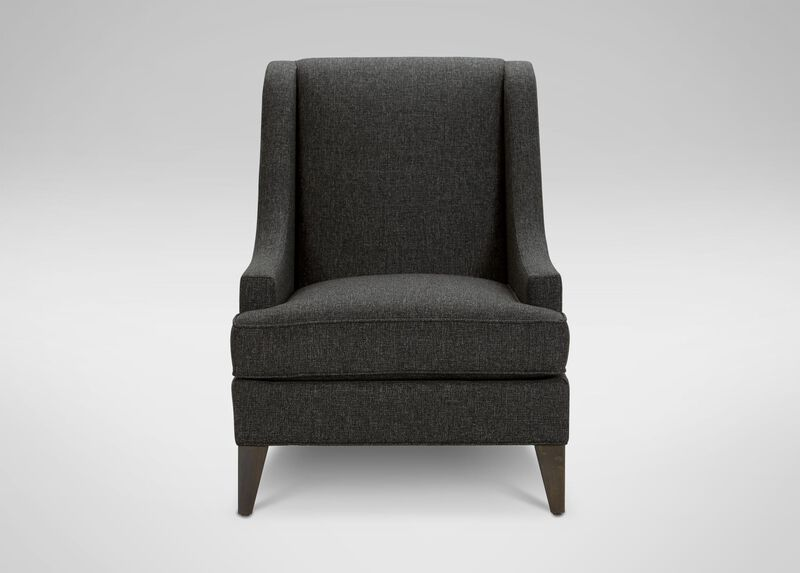 Emerson Chair, Quick Ship , Hailey Charcoal (Q1055), solid texture , large_gray