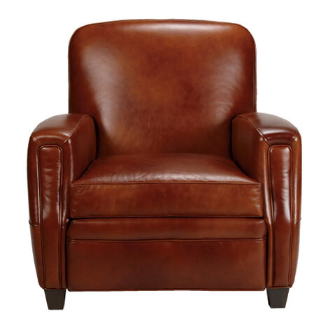 Dean Leather Chair , , large - Shop Living Room Chairs & Chaise Chairs Accent Chairs Ethan Allen