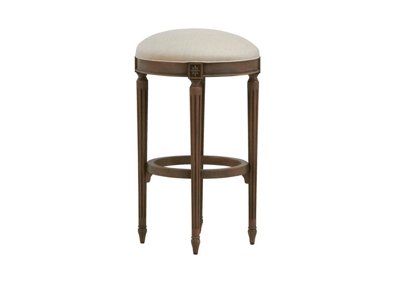 Marcella Swivel Barstool ,  , large_gray