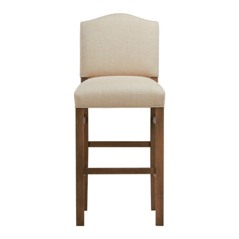 Hadley Barstool, Arched Top and Square Leg ,  , large