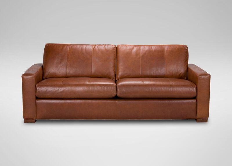 Hudson Leather Sofa ,  , large_gray