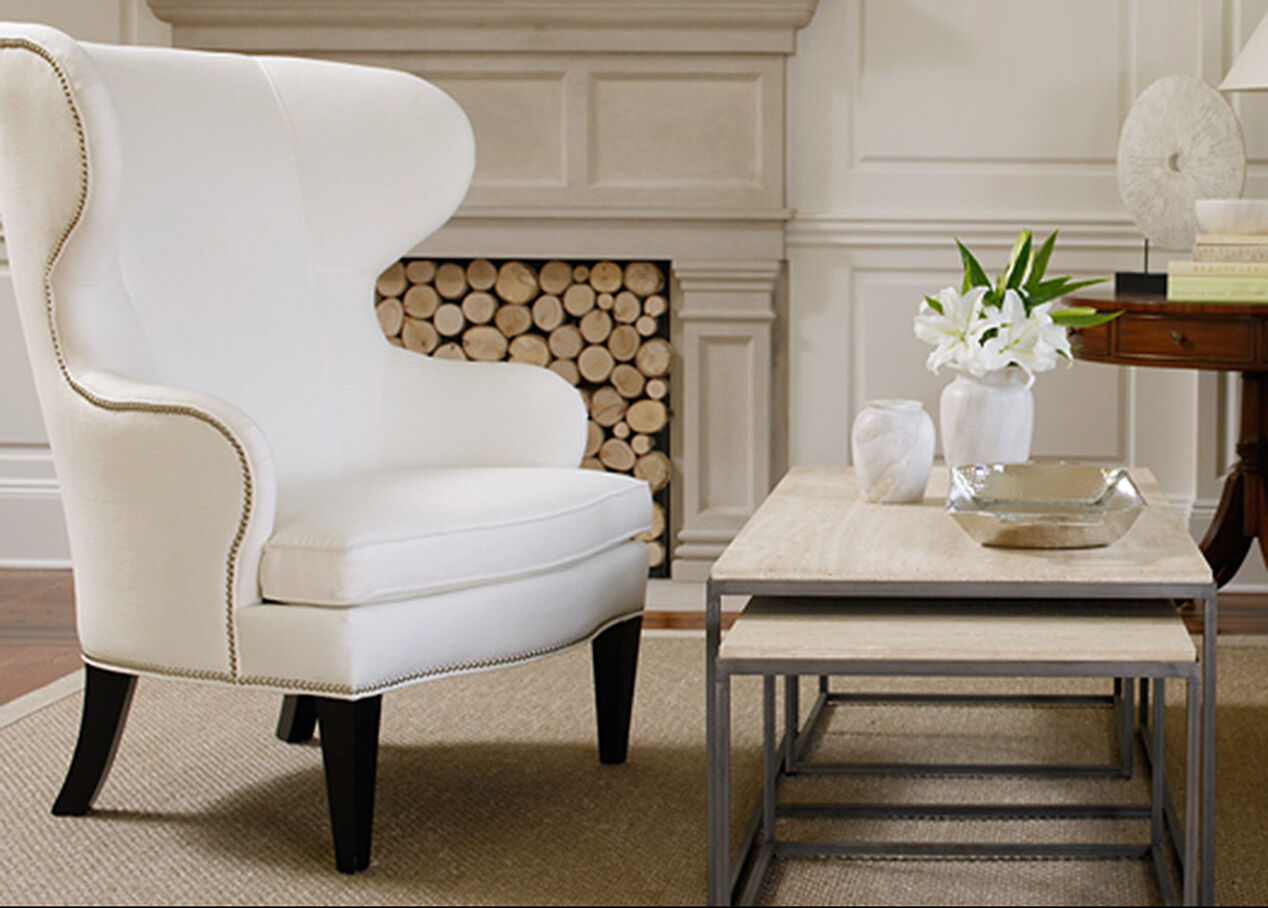 Wing Chairs For Living Room Rand Wing Chair Chairs Chaises