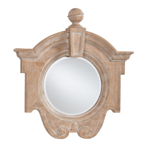 Aged Oak Gisele Mirror ,  , large