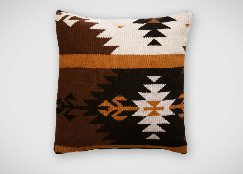Southwestern Wool Pillow ,  , large_gray