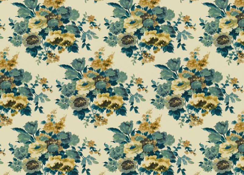 Fallon Teal Fabric by the Yard ,  , large_gray