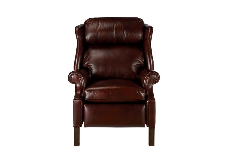 Townsend Leather Recliner ,  , large_gray