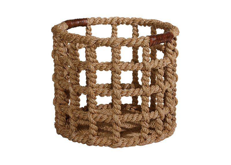 Bailey Island Floor Basket ,  , large_gray