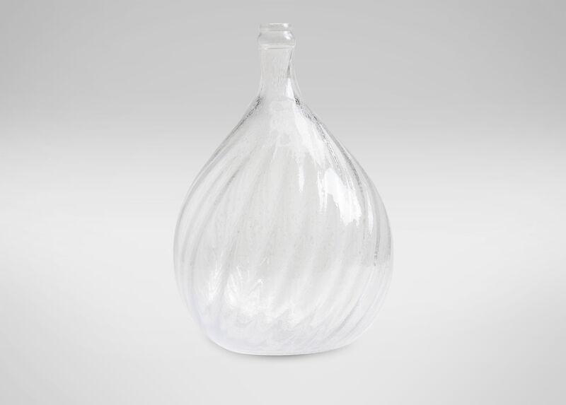 Swirled Demi-John Glass Jar ,  , large_gray
