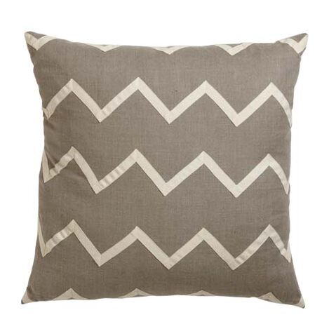 Chevron Linen Pillow ,  , large