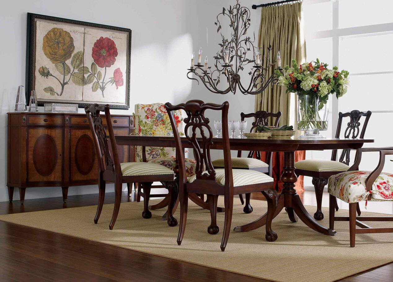 Abbott Dining Table Dining Tables - Ethan allen dining room chairs