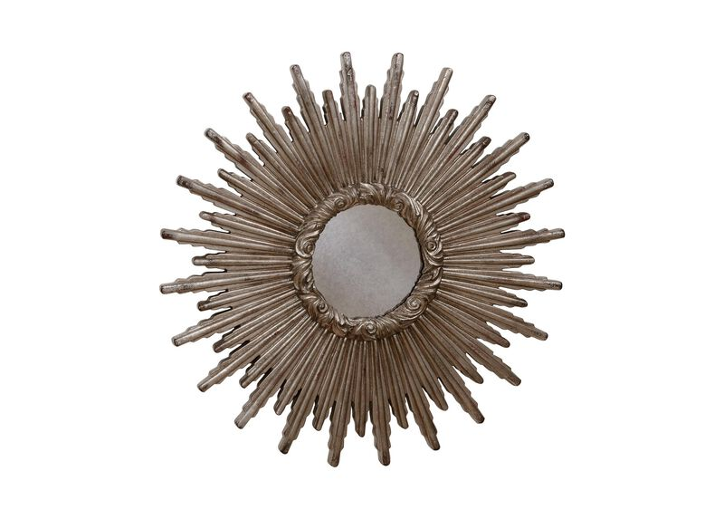 "24"" Silver Starburst Mirror ,  , large_gray"