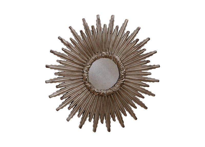 """24"""" Silver Starburst Mirror ,  , large_gray"""