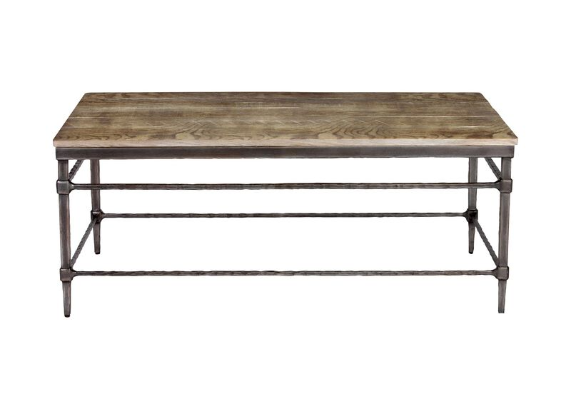 Vida Wood-Top Coffee Table ,  , large_gray