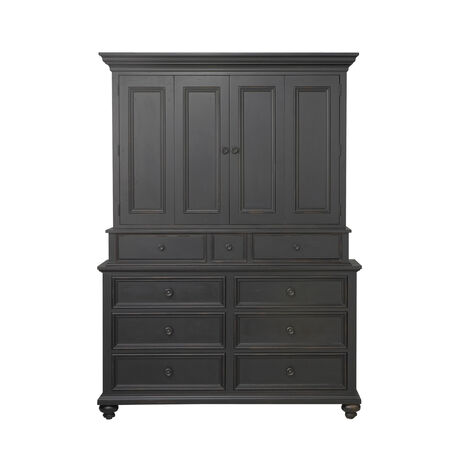 Carter Media Dresser     large. Shop Bedroom Dressers   Chests   White Dressers   Ethan Allen