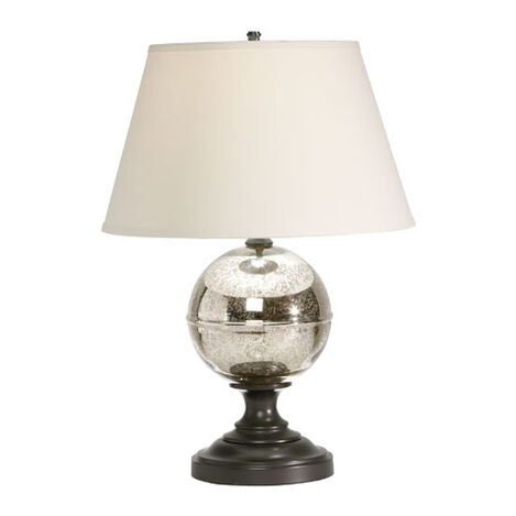 Glass Orb Table Lamp ,  , large