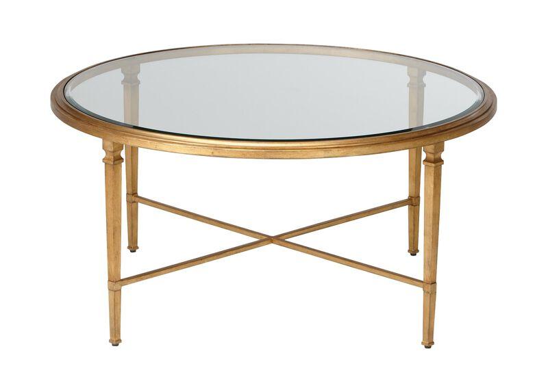 Heron Round Coffee Table ,  , large_gray