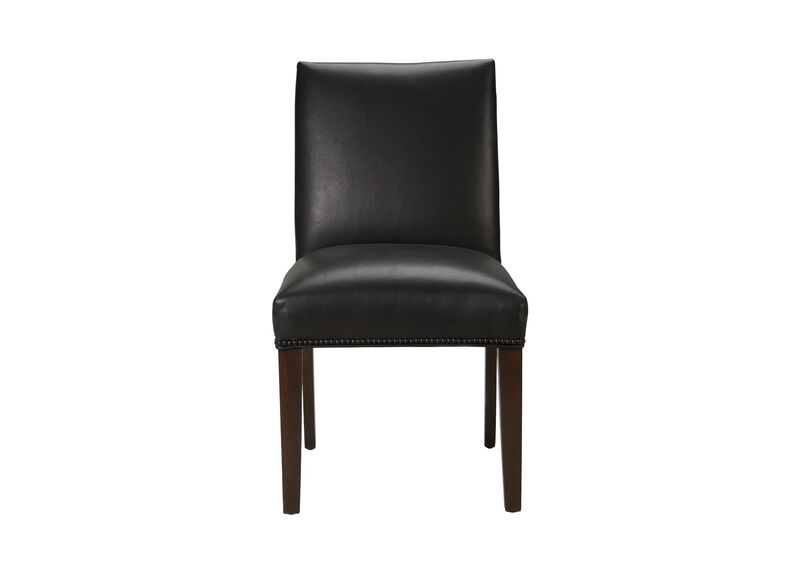 Sebago Leather Dining Chair Arm amp Host Chairs : 72 7338FRONT from www.ethanallen.com size 800 x 573 jpeg 17kB
