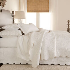 Dominique White Quilt ,  , large
