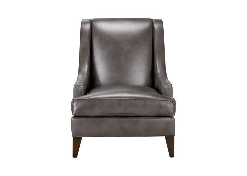 Emerson Leather Chair, Quick Ship ,  , large_gray