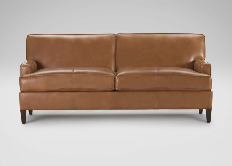 Bryant Leather Sofa ,  , large_gray