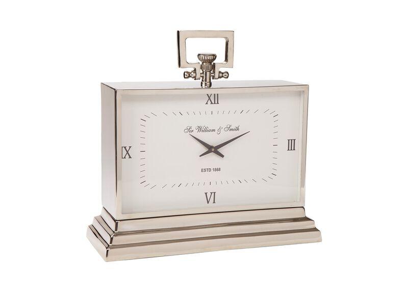 Large Nickel Desk Clock ,  , large_gray