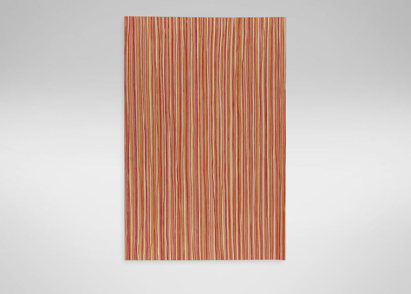 Pencil Stripe Rug, Multi Pink ,  , large_gray