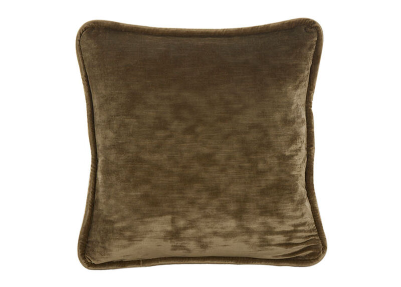 Bronze Velvet Pillow ,  , large_gray