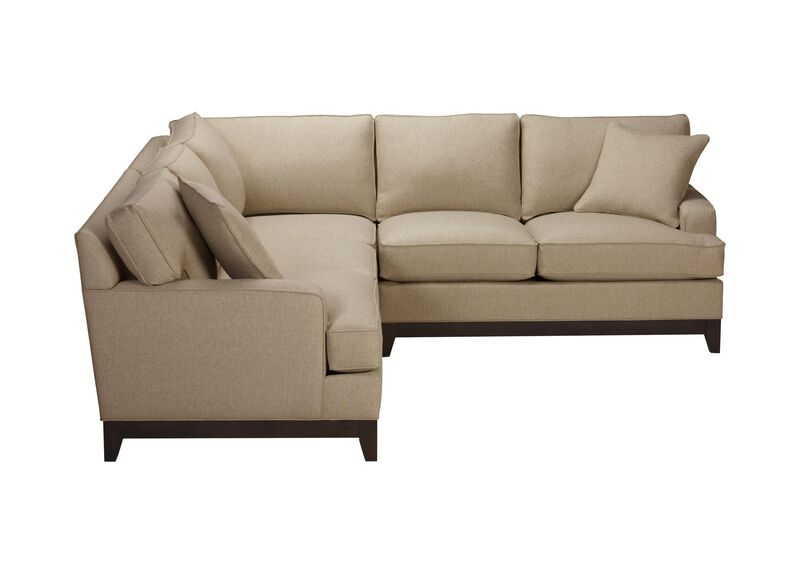 Arcata Three Piece Sectional, Quick Ship , Palmer Oyster (Q3033), chenille , large_gray