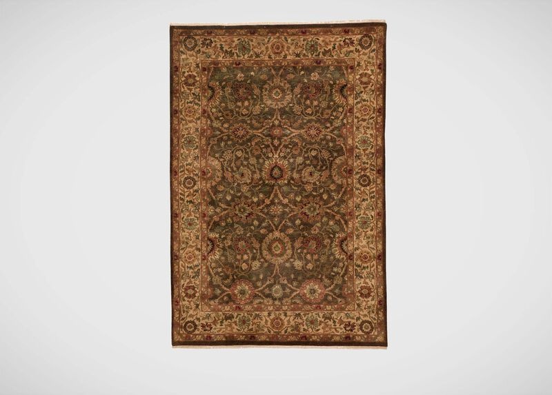 Agra Rug, Brown/Gold ,  , large_gray