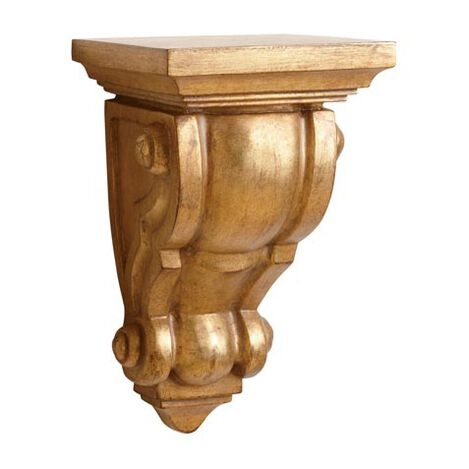 Gold Scroll Wall Bracket ,  , large