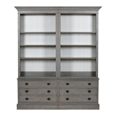 Villa Double File Bookcase ,  , large