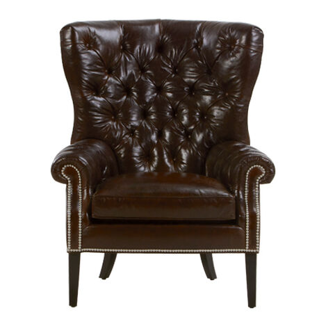 Rhodes Leather Chair ,  , large