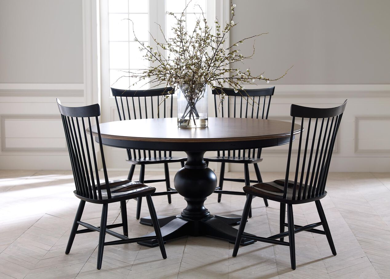 Ethan allen dining room furniture - Cooper Round Dining Table Alt