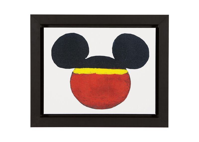 Color Block Mickey ,  , large_gray