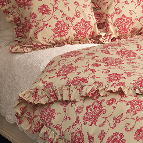 Allegra Floral Duvet Cover ,  , large